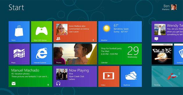 Windows 8: Metro