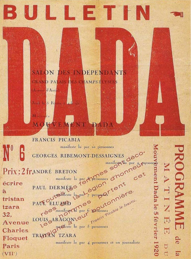 Bulletin Dada, no. 6