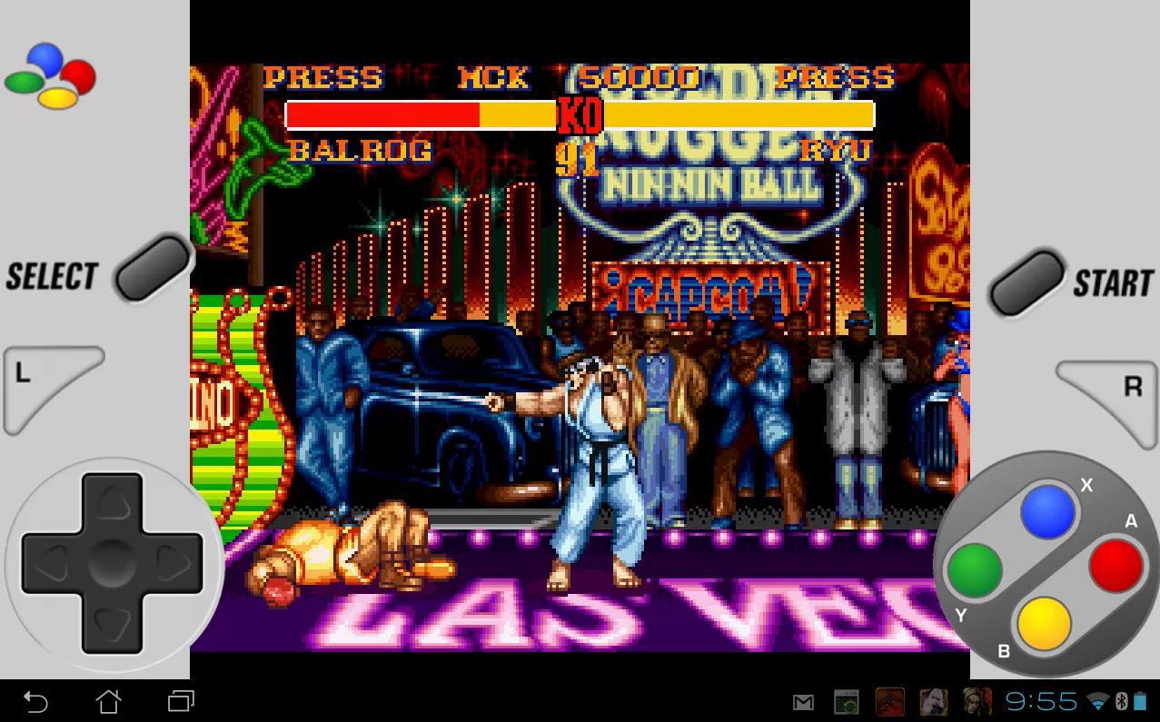 SuperGNES Street Fighter II