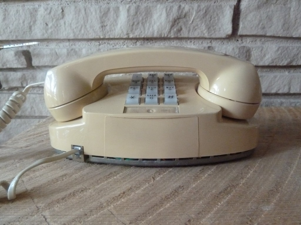 Push Button Western Electric Princess Telephone