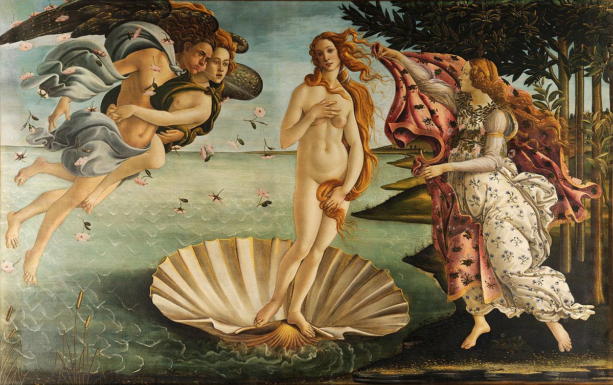 The Birth of Venus;