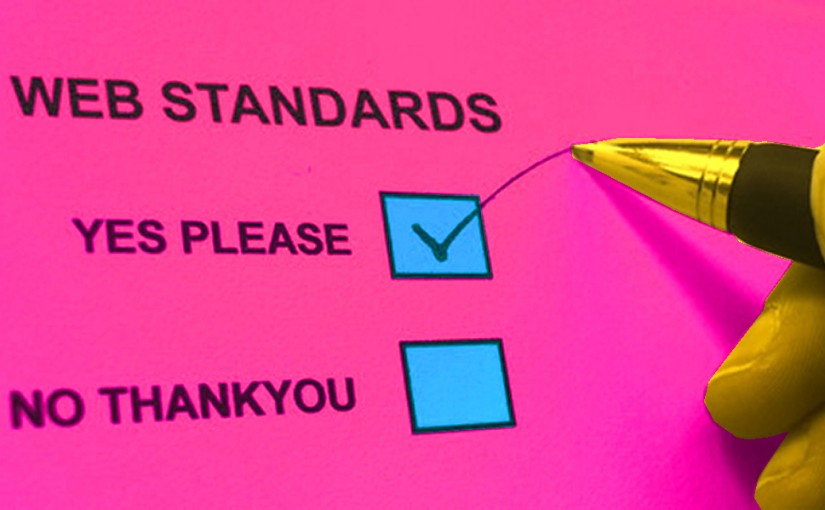 What Are Your Web Standards?